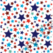 Berry Baby DIAMOND szivacs kanapéágy és hempergő, gyerek méretben:  Sötétkék - Blue Stars