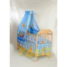 AKCIÓS: Extra méretű ágynemű szett-kék macis (bővíthető)