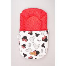 Berry Baby Babazsák: Minnie fantasy-piros pöttyös