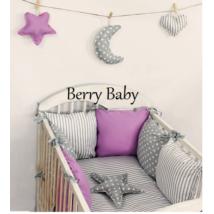"""Berry Baby Luxus babaágynemű szett- """"Lavender"""""""