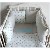 """Berry Baby Luxus babaágynemű szett- """"Blue Star"""""""