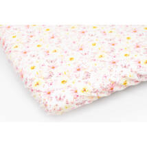 Berry Baby EXCLUSIVE pamut gumis lepedő 70x140 cm: ROSES AND FLOWERS