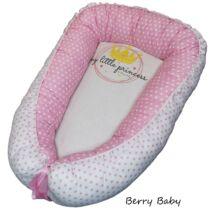 Berry Baby PRÉMIUM Babafészek kókusz matraccal: PRINCESS