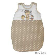 Berry Baby Pamut baba hálózsák- Wild and Free -barna csillagossal