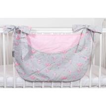 Berry Baby Smile pelenka tároló rendező kiságyra- rózsaszín balerina