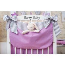Berry Baby Smile pelenka tároló rendező kiságyra- levendula