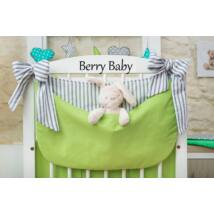 Berry Baby Smile pelenka tároló rendező kiságyra- Lime