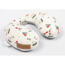 Berry Baby nyakpárna-utazópárna: tengerész hurkolt pamut