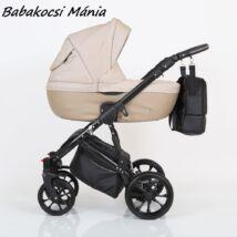 Berry Baby CORRADO multifunkciós babakocsi szett (autós hordozóval és adapterrel!): CR5 Black