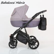 Berry Baby CORRADO multifunkciós babakocsi szett (autós hordozóval és adapterrel!): CR7 Black