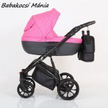 Berry Baby CORRADO multifunkciós babakocsi szett (autós hordozóval és adapterrel!): CR9 Black