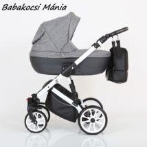 Berry Baby CORRADO multifunkciós babakocsi szett (autós hordozóval és adapterrel!): CR1 White