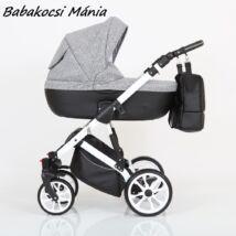 Berry Baby CORRADO multifunkciós babakocsi szett (autós hordozóval és adapterrel!): CR2 White