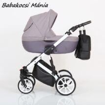 Berry Baby CORRADO multifunkciós babakocsi szett (autós hordozóval és adapterrel!): CR7 White