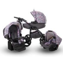 Berry Baby- LUX 3in1 babakocsi szett (autós hordozóval és adapterrel): Z-28