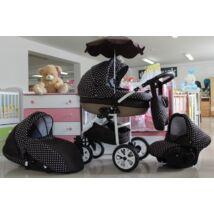 Berry Baby Lux 3in1 babakocsi szett (autós hordozóval és adapterrel): Z-6