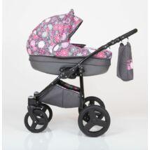 Berry Baby Lux 3in1 babakocsi szett (autós hordozóval és adapterrel): Z-9
