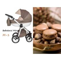 Berry Baby Macaron 3in1 multifunkciós babakocsi szett (autós hordozóval és adapterrel): M-1