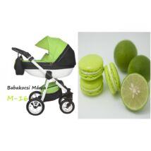 Berry Baby Macaron 3in1 multifunkciós babakocsi szett (autós hordozóval és adapterrel): M-16