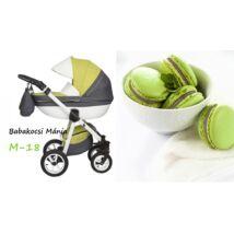 Berry Baby Macaron 3in1 multifunkciós babakocsi szett (autós hordozóval és adapterrel): M-18