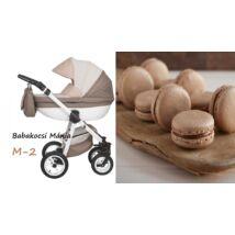 Berry Baby Macaron 3in1 multifunkciós babakocsi szett (autós hordozóval és adapterrel): M-2