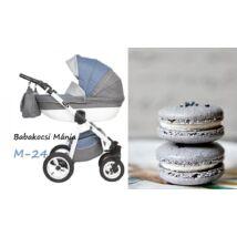 Berry Baby Macaron 3in1 multifunkciós babakocsi szett (autós hordozóval és adapterrel): M-24
