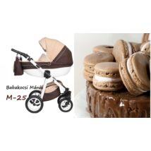 Berry Baby Macaron 3in1 multifunkciós babakocsi szett (autós hordozóval és adapterrel): M-25