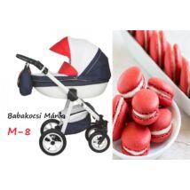 Berry Baby Macaron 3in1 multifunkciós babakocsi szett (autós hordozóval és adapterrel): M-8