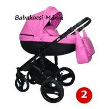 Berry Baby - Sojan KUGA Classic multifunkciós babakocsi szett: 2-Magenta