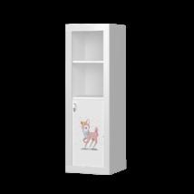 Filip GRAFIKA álló szekrény: BEAR GIRL