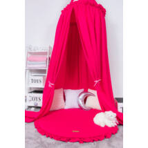Berry Baby Frilly kör baldachin- pink
