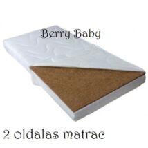 Kókusz- szivacs matrac Kiságyba (megfordítható)- 60x120x8cm