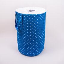 Berry Baby Szennyestartó/ játéktároló babaszobába: Kék pöttyös