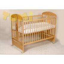Kiságy (rácsos ágy): Tomi XII- FENYŐ (Bemart ZSIRÁF mintával)