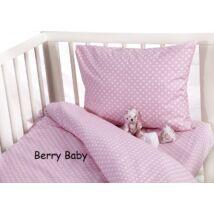 Berry Baby huzat szett ovisoknak: babarózsaszín pöttyös