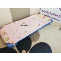 Berry Baby Töltött lepedő szabvány EU bölcsődei és óvodai gyermekágyra: rózsaszín elefántos