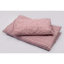 Berry Baby Óvodás paplan-párna szett-TÉLI-Rózsaszín csíkos