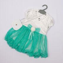 Kislány alkalmi ruha- kb.3 éves babára- menta