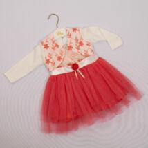 Kislány alkalmi ruha- kb. 6-9 hónapos babára -2 részes