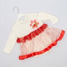 Kislány alkalmi ruha- kb. 9-12 hónapos babára