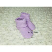 Újszülött baba zokni: LILA