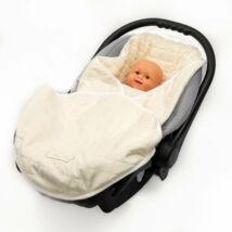Berry Baby babahordozós takaró: ekrü szőrös