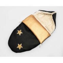 Berry Baby Crown bundazsák: 07. Gold Star -babahordozó autós ülésbe és mózesbe- ECO bőrből