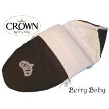 Berry Baby Crown bundazsák: 06/A Black Bubble -babahordozó autós ülésbe és mózesbe-