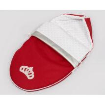 Berry Baby Crown bundazsák: Red -babahordozó autós ülésbe és mózesbe-