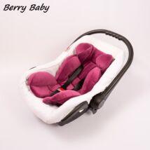 Berry Baby Plüss újszülött szűkítőbetét babahordozóba 0-4 hó: lila  (univerzális)