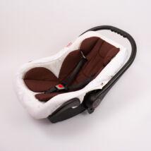 Berry Baby Pamut szűkítőbetét /alátét hordozóba 4-12 hó- CSOKOLÁDÉ BARNA  (univerzális)