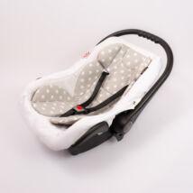 Berry Baby Pamut szűkítőbetét /alátét hordozóba 4-12 hó- Szürke alapon fehér csillag  (univerzális)