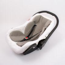 Berry Baby Polár szűkítőbetét/alátét babahordozóba 4-12 hós: szürke  (univerzális)