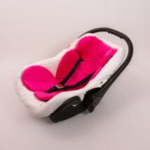 Berry Baby Minky szűkítőbetét/alátét babahordozóba 4-12 hós: pink (univerzális)